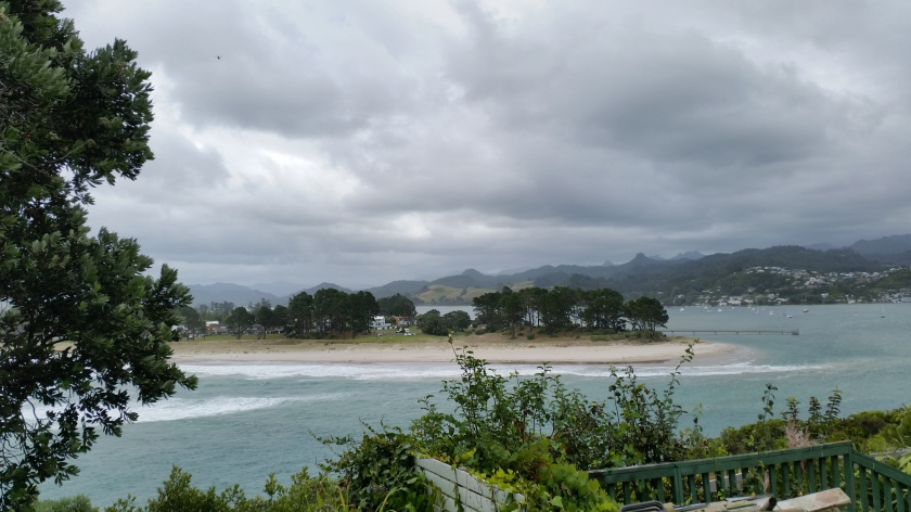 the Tairua estuary